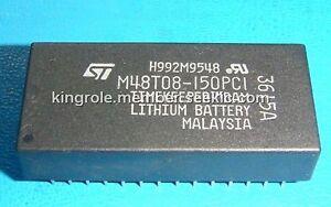 5 pcs ST M48T08-150PC1 DIP-28 64 Kbit 8Kb x 8 TIMEKEEPER