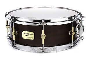 Canopus Mahogany Snare Drum 14x5.5 Noir Laque-afficher Le Titre D'origine Suppression De L'Obstruction