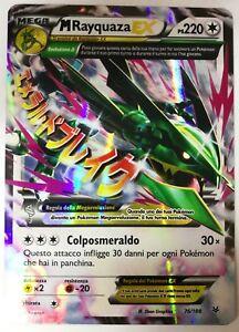POKEMON-M-Rayquaza-EX-76-108-Holo-Furie-Volanti-ITALIANO