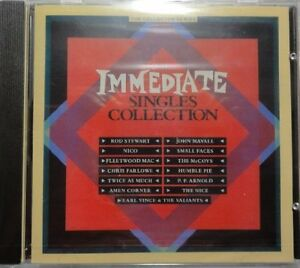 Immediate-Singles-Collection-17-tracks-1985-Rod-Stewart-Nico-Fleetwo-CD