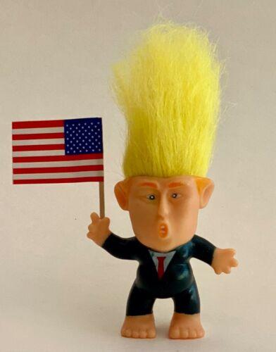 1 Decal Donald Trump Troll Doll. with Flag...MAGA..Make America Great Again..
