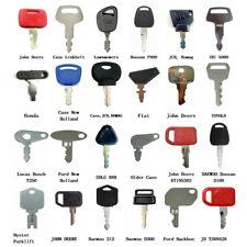 24pc Heavy Equipment Ignition Keys For Bobcat Jds Case Komatsu Jcb Bomag Kubota