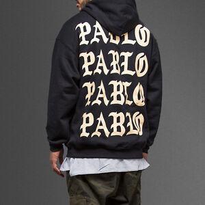 a7cd7644d25b Paris 4 The Life Of Pablo TLOP I Feel like Pablo Black Sweatshirt ...
