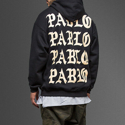 Paris 4 The Life Of Pablo TLOP I Feel like Pablo Black Sweatshirt Hoodie merch