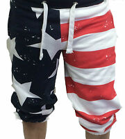New Mens Shorts Soul Star USA Cotton fleece Summer Half Pants Casual Designer