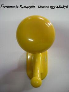 Attaccapanni In Plastica.D0050 Appendiabiti In Plastica Appendino Attaccapanni Giallo