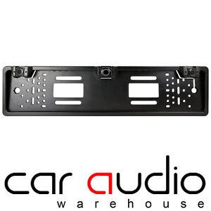 Details about TOYOTA AURIS Car Number Plate Rear Reversing Reverse Parking  Aid 3 Sensor Bar