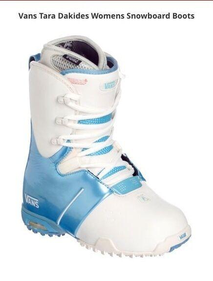 Vans Tara Dakides II 2 Snowboard Boots Women Size 7