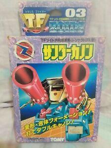 TF-03-Trans-Fighter-Zoids-Vintage-Transformers-1990-RARE-Godaikin-Popy