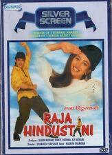 RAJA HINDUSTANI - ORIGINAL  BOLLYWOOD DVD -  Aamir Khan, Karishma Kapoor.