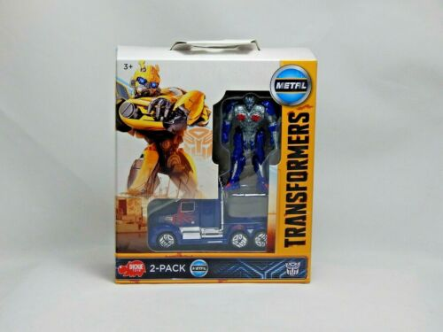Transformers M5 Optimus Prime Dickie Toys Action Figure with Car 2 Pack