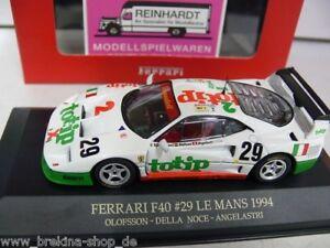 1-43-Ixo-FER010-Ferrari-F40-29-Le-Mans-1994-SONDERPREIS-19-99-statt-32-95