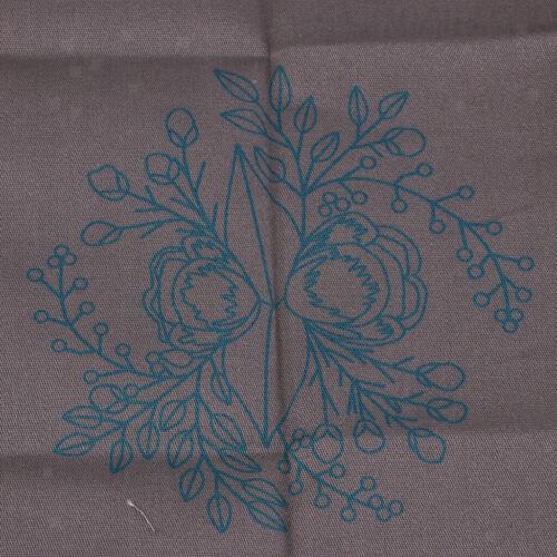 Flower Pattern DIY Needlework Kits Embroidery Hoop DIY Package for Beginners