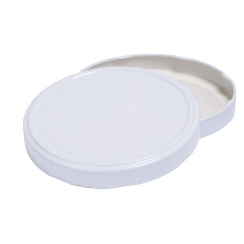 6 Stück X 4250 ml Einmachgläser • Einkochgläser mit Schraubdeckel TO 100 mm Weiß