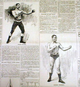 2-1897-newspapers-w-ILLUSTRATIONS-Early-boxing-match-PETER-MAHER-vs-TOM-SHARKEY