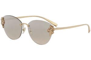 6e7420a6df18 Versace Women's VE2196B VE/2196/B 1412/8Z Rose Gold Cat Eye ...