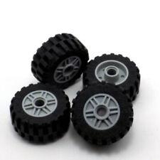 LEGO 4 Reifen 30,4 x 14 mm mit Felge schwarz 18 x 14 mm 58090 55981 NEUWARE