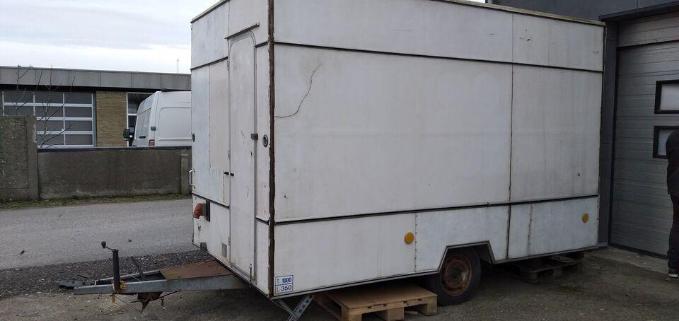 Salgsvogn, KDW VK351, lastevne (kg): 350