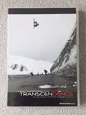 Transcendence DVD Rare Snowboarding / Snowboard 2002 Freestyle