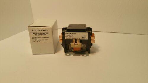 NEW MAGNETIC DEFINITE PURPOSE CONTACTOR//RELAY 2P 50A 24V//120V//240V
