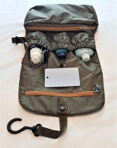 TATONKA SMALL TRAVEL CARE 2826 WASH BAG TOILETRIES SHOWER SHAVE BAG OLIVE DRAB