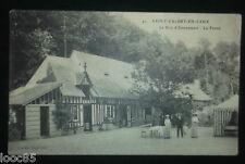 cpa 76 - SAINT-VALERY-EN-CAUX - Le bois d'Etennemare La Ferme - Seine-Maritime