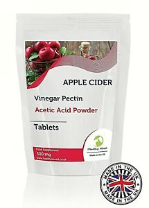 Apple Cider Vinegar 500mg Lose Weight Pills, Reduces Belly