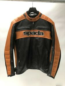 Spada-Turismo-Classic-Retro-Leather-Motorcycle-Motorbike-Jacket-pre-production