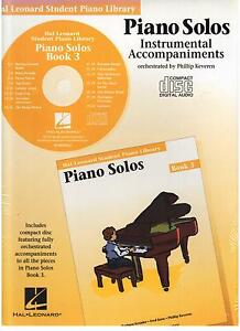 Hal-Leonard-Student-Piano-Library-Piano-Solos-Book-3-CD-ONLY-NEW
