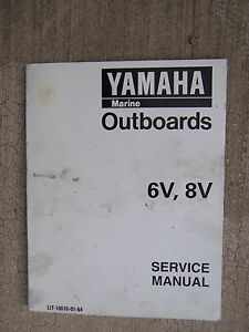1996 yamaha outboard motor 6v 8v service manual more manuals in our rh ebay ie Yamaha Dirt Bike Stores Yamaha Motorcycle Store