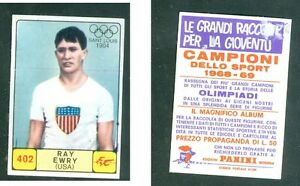 Ray-Ewry-USA-Panini-Athletics-CARD-1968-n-402-Very-Rare