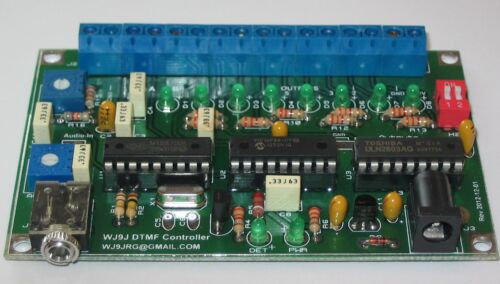 Repeater and Remote Base Controller ICOM CI-V Home automation Complete board
