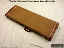 Vintage 1959-1963 Fender Stratocaster Jazzmaster Brown Case Strat Jaguar 62 1960