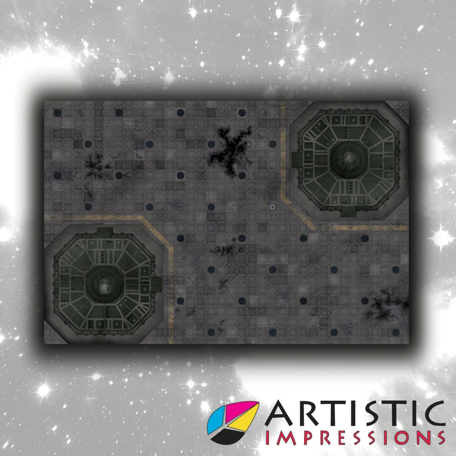 NEW Vinyl 6x4' Landing Pad Gaming Mat - Ideal for Warhammer