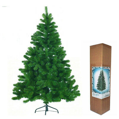 4/5/6/7FT GREEN WHITE BLACK ARTIFICIAL CHRISTMAS XMAS TREE PINE OFFICE DECOR