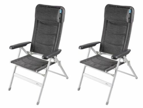 2 x Kampa Luxury Chair Modena