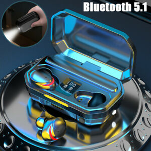 Bluetooth-5-1-Wireless-Earphones-Headphones-TWS-Mini-Earbuds-Headset-Flashlight
