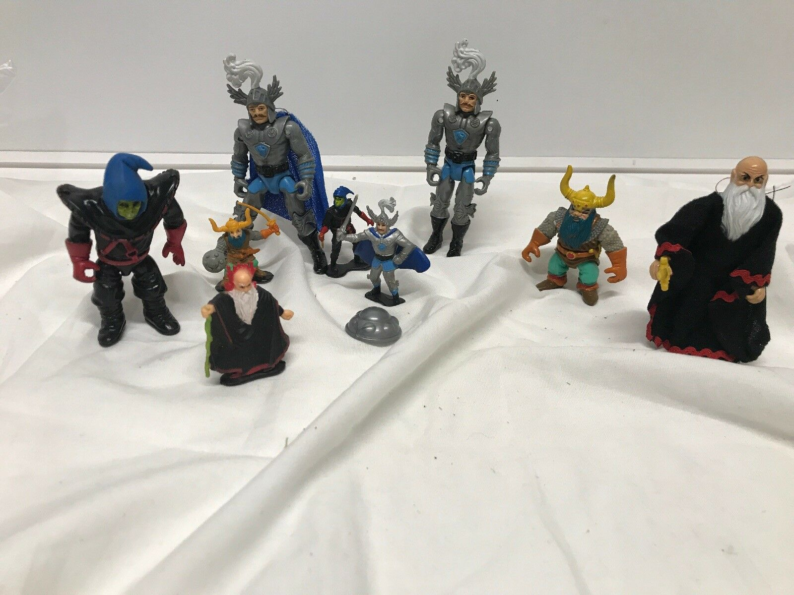 1983 LJN Advanced Dungeons & Dragons Strongheart Action Figure Lot Of 9