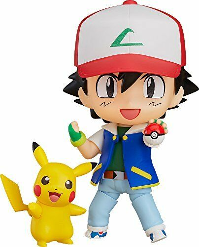 Good Smile Company Nendoroid 800 Pokemon Ash & Pikachu Figure from Japan