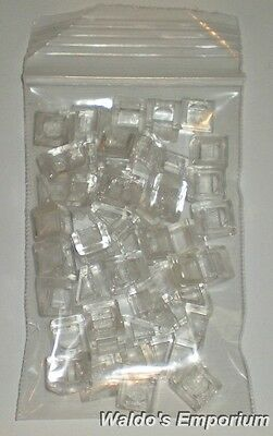 New Lego TRANS ORANGE 30 degree SLOPE 1x1 x 2//3 54200 Lot of 50 /'Cheese/' Slope