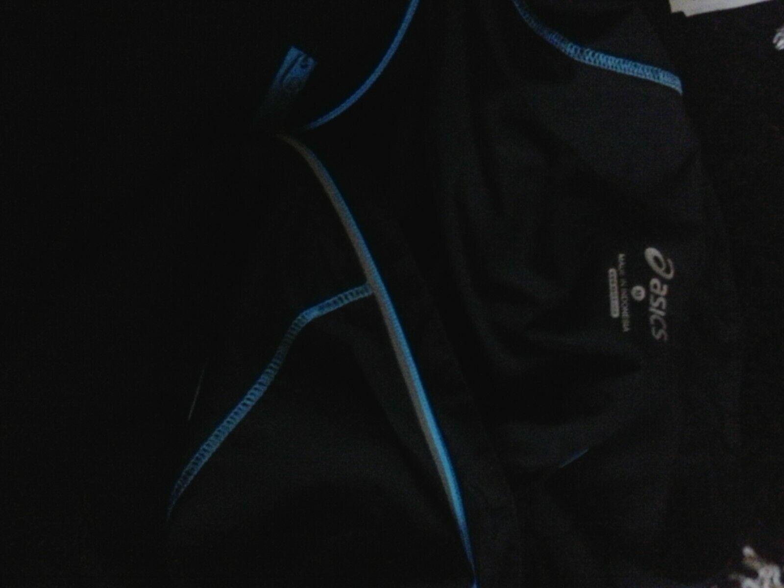 Asics mens hooded running top