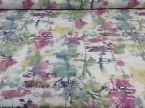 Alfresco Hinojo Tela de algodón por prestigiosas textiles