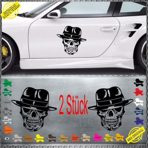 Skull Gangster Totenkopf terrorist Fuck You Aufkleber Sticker Heckscheiben sk-n4