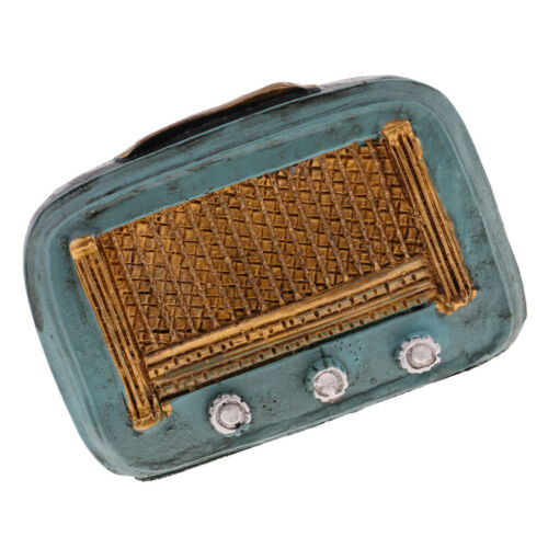 1/12 Dollhouse Decorative Resin Radio Model For Dollhouse Living Room Decor