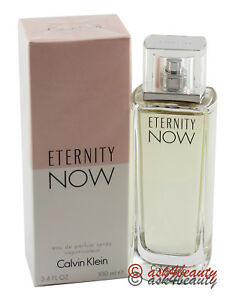 Eternity Now By Calvin Klein 3.4oz 100ml Edp Spray For Women New In ... f3c55a29be