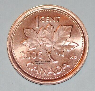 ZINC NON MAGNETIC ONE CENT. 2010 CANADA UNCirculat 1 CENT CANADIAN PENNY