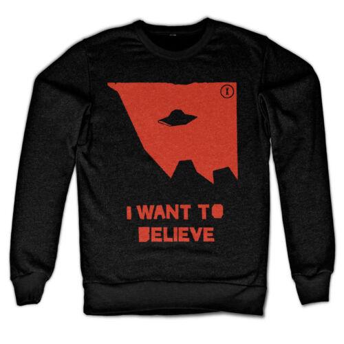 Licence Officielle The X-Files-Je WA de ne pas croire Sweat S-XXL tailles
