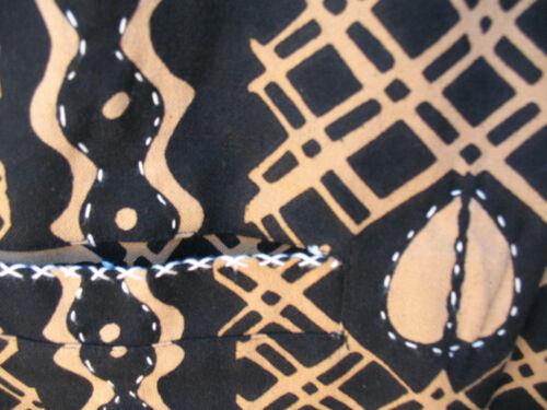 Art Sam Et Coton Noir Or Doublée En Réversible Tissé Hilu 1x To Veste Taille En Wear rr75Aqw