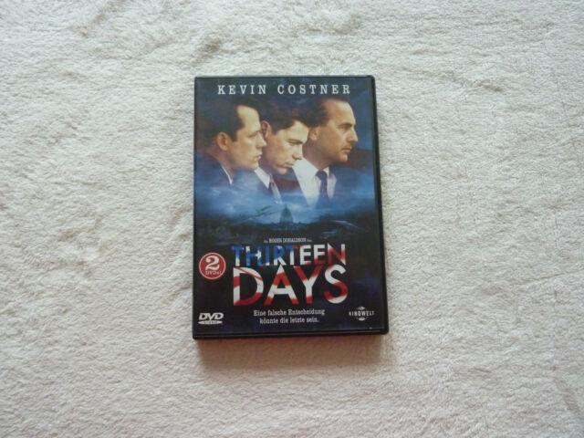 """DVD """"Thirteen Days"""" (2001) 2 DVDs"""