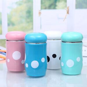 270ML-Stainless-Steel-Mushroom-Spots-Vacuum-Cup-Thermal-Bottle-Travel-Cup-Mug